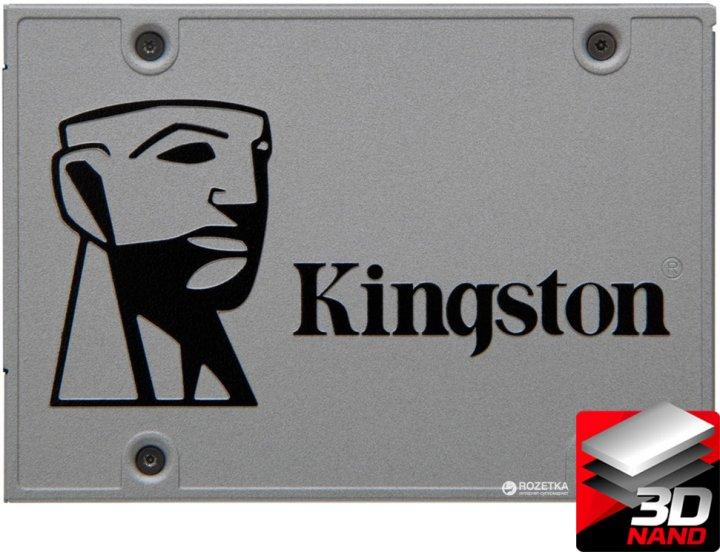 "Kingston SSD UV500 480GB 2.5"" SATAIII 3D NAND TLC (SUV500/480G) - зображення 1"