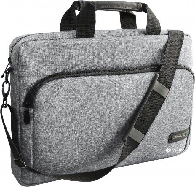 """Сумка для ноутбука Grand-X 15.6"""" Grey (SB-139G) - зображення 1"""