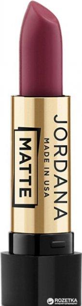 Матовая помада Jordana Matte Lipstick Matte Mystery MG-30 3.4 г (041065380300) - изображение 1