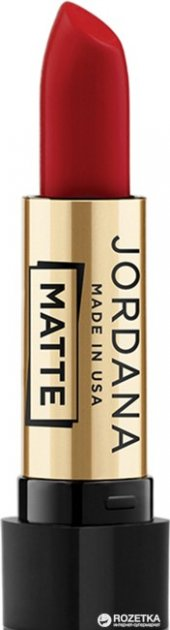 Матовая помада Jordana Matte Lipstick Matte Scarlet Red MG-50 3.4 г (041065380508) - изображение 1