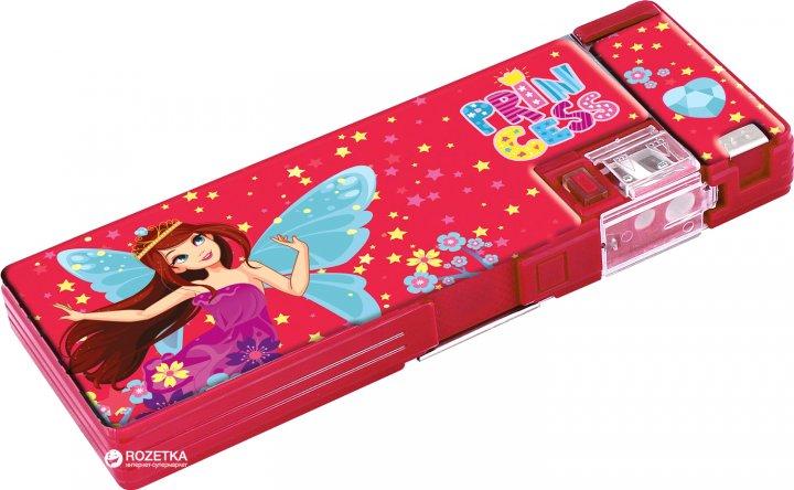 Пенал Cool For School Princess 2 отделения с точилкой Красный (CF85962) - изображение 1