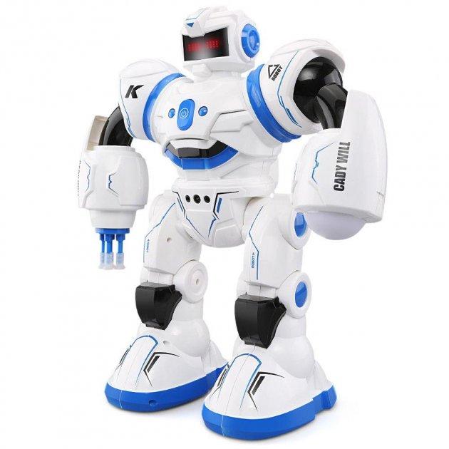 Боевой программируемый робот JJRC R3 Cady Will Бело-синий (JJRC-R3B) - изображение 1