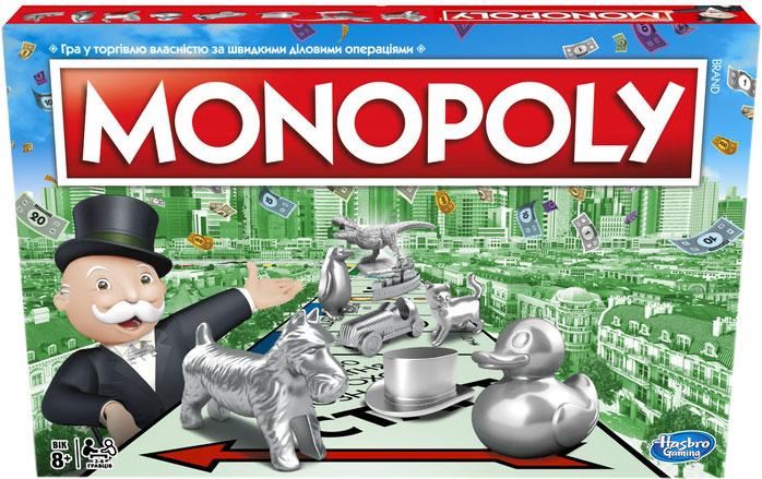 Настільна гра Hasbro Класична Монополія оновлена (українська) (C1009_657) (5010993432066) - зображення 1
