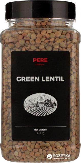 Чечевица Pere Зеленая 400 г (4820191591394) - изображение 1