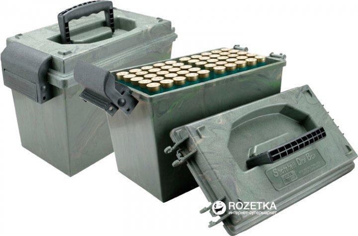 Кейс МТМ SD-100 для патронов 12 к на 100 патр. Камуфляж (17730866) - изображение 1