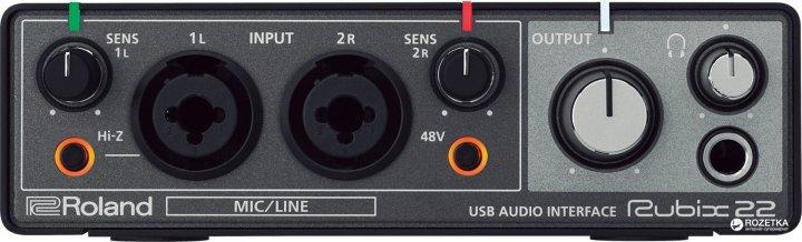 Аудіоінтерфейс Roland Rubix22 - зображення 1