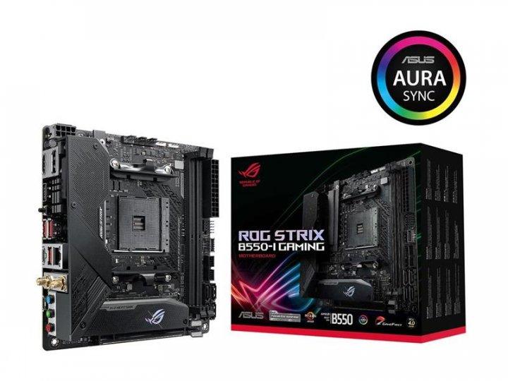Материнська плата Asus ROG Strix B550-I Gaming Socket AM4 - зображення 1