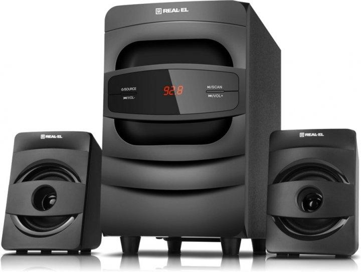 Акустична система Real-El M-390 Black (EL121300009) - зображення 1