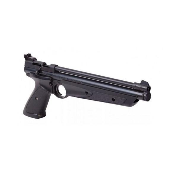 Пневматичний пістолет Crosman American Classic P1377 (чорний) - зображення 1