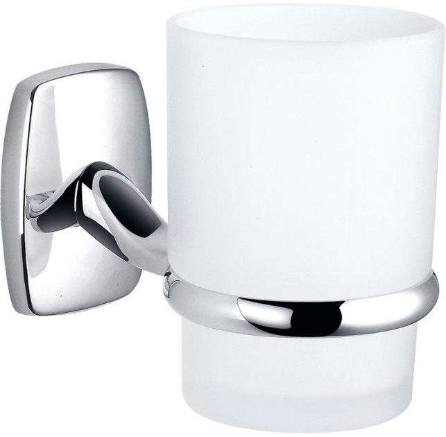 Стакан для ванної PERFECT SANITARY APPLIANCES RM 1101 круглий Скло Латунь - зображення 1
