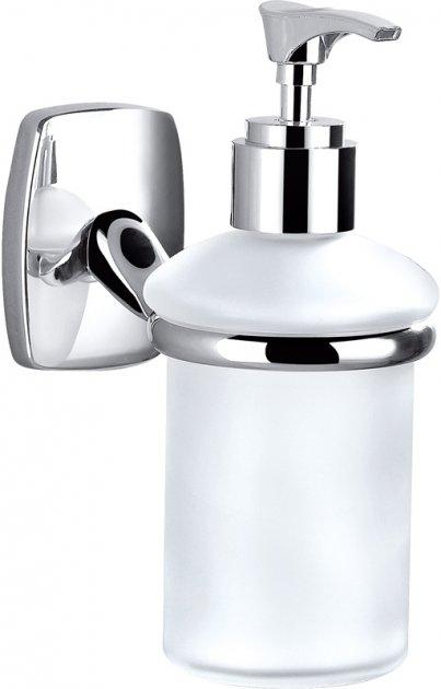Дозатор для жидкого мыла PERFECT SANITARY APPLIANCES RM 1401 подвесной Стекло Латунь - изображение 1