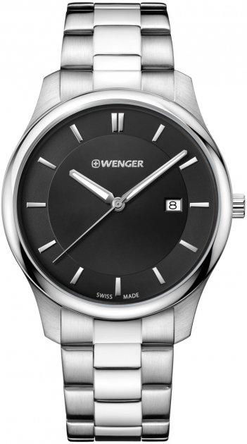 Чоловічий годинник Wenger W01.1441.104 - зображення 1