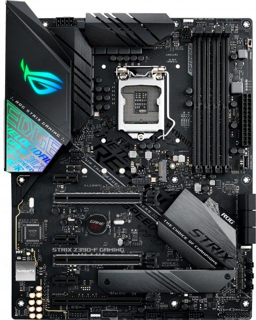 Материнская плата Asus ROG Strix Z390-F Gaming (s1151, Intel Z390, PCI-Ex16) - изображение 1
