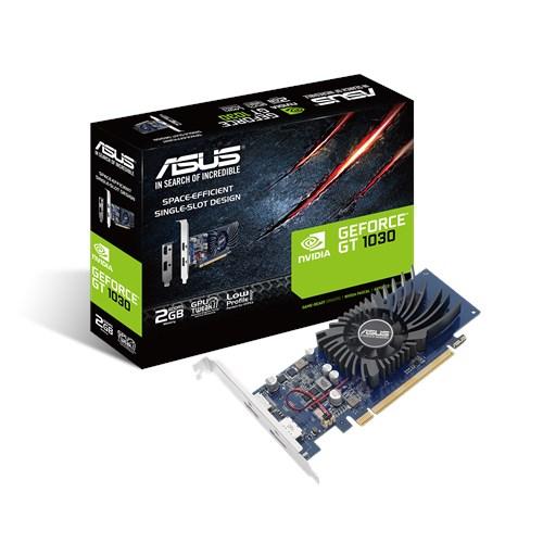 Видеокарта GF GT 1030 2GB GDDR5 Asus (GT1030-2G-BRK) - изображение 1