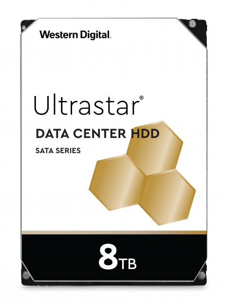 """Жесткий диск Western Digital Ultrastar DC HC320 8TB 7200rpm 256MB HUS728T8TALE6L4_0B36404 3.5"""" SATA III - изображение 1"""