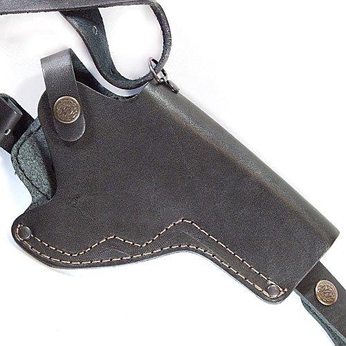 Кобура для Револьвера оперативна не формована Шкіра Чорна Beneks A021 - зображення 1