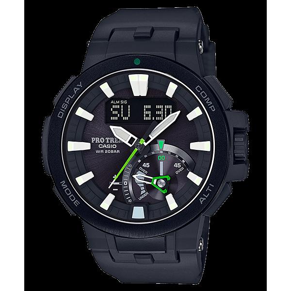 Чоловічі годинники Casio PRW-7000-1AER - зображення 1