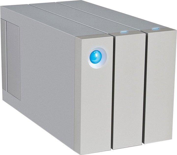 "Жорсткий диск LaCie 2 Big Thunderbolt 2 8TB STEY8000401 3.5"" USB 3.0 Type-B, Thunderbolt External - зображення 1"