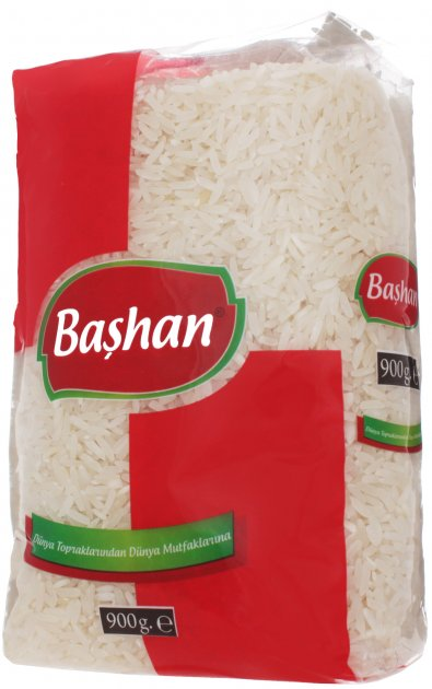 Рис Bashan тайський 900 г (8697686879215) - зображення 1