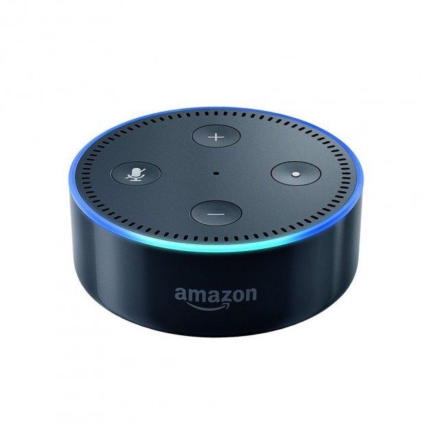 Смарт-колонка, Amazon Echo Dot (2-ое поколение) - черная (echo_dot-2G) - изображение 1