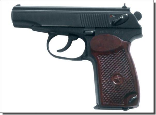 Пистолет под патрон Флобера СЕМ ПМФ-1 - зображення 1