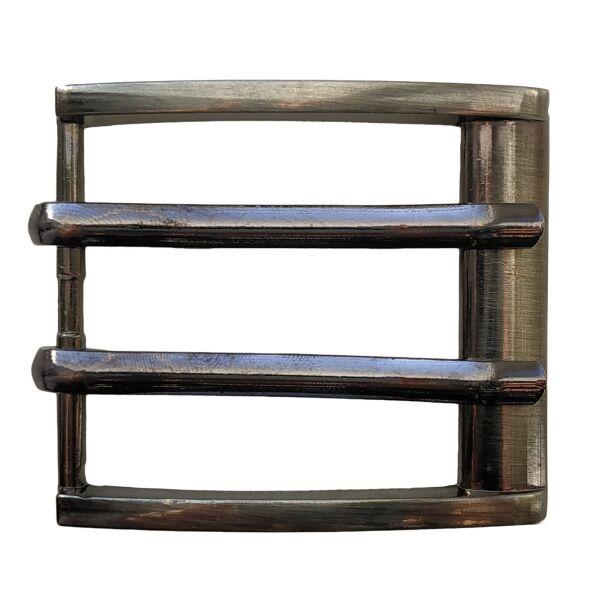 Пряжка для ремня металлическая на 2 шпинька 40 мм Cintura ler-pr2574 - изображение 1