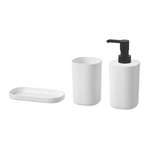 Набор аксессуаров IKEA STORAVAN для ванной комнаты 3 предмета 704.290.03 - изображение 1