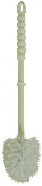 Щётка-ёршик для унитаза ZAMBAK PLASTIK 37x7 см белая (ZP84153/W) - изображение 1