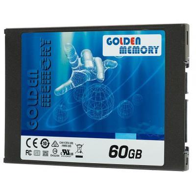 "Накопитель SSD 2.5"" 60GB Golden Memory (AV60CGB) - зображення 1"