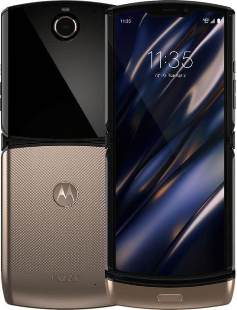 Мобильный телефон Motorola RAZR 2019 XT200-2 Blush Gold - изображение 1