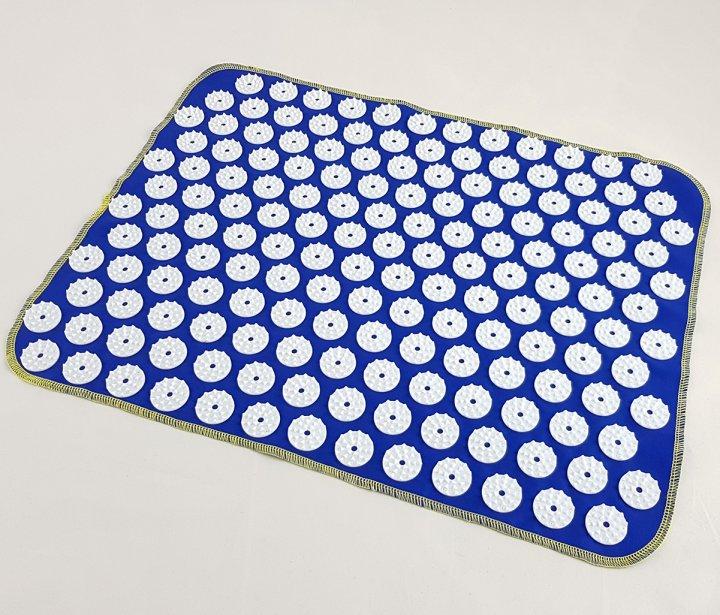 Коврик массажный Аппликатор Кузнецова (для спины, ног) OSPORT Ёжик 188 (apl-004) Сине-белый - изображение 1