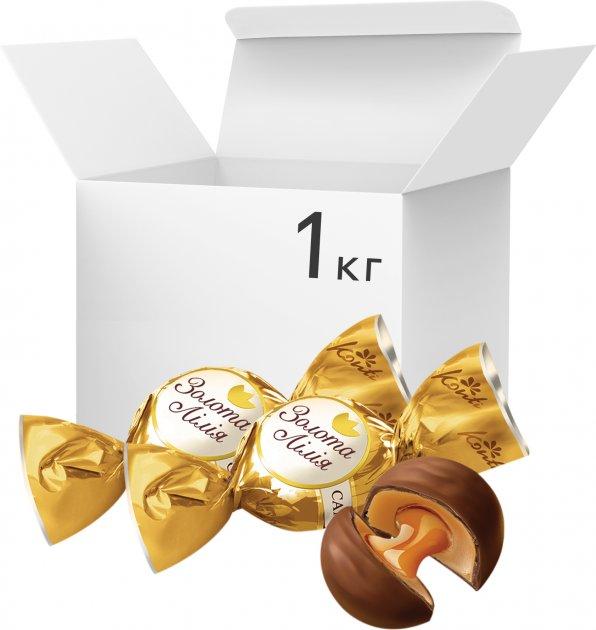 Конфеты Konti Золотая лилия 1 кг (4823088604993) - изображение 1
