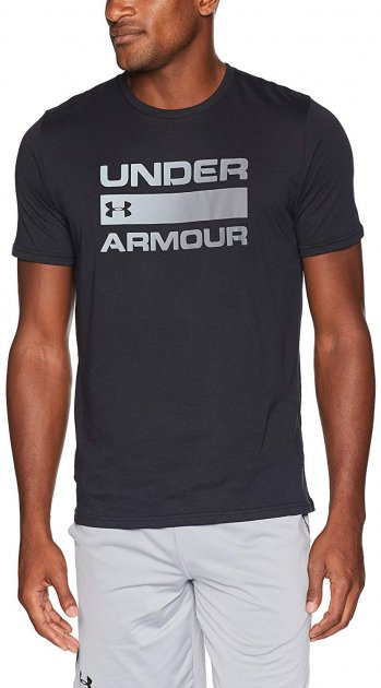 Футболка Under Armour Ua Team Issue Wordmark Ss 1329582-001 S (192007665792) - изображение 1