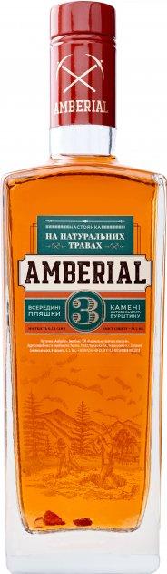 Настойка Amberial 0.5 л 38% (4823098202264) - изображение 1