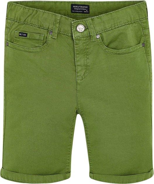 Шорты Mayoral Boy 231-18 10A Зеленые (2900231018103) - изображение 1