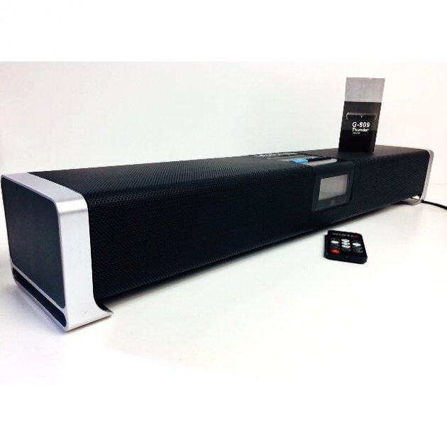 Саундбар INDENA акустическая колонка Home Theatre Bluetooth 60Вт Черная (G-809) - изображение 1
