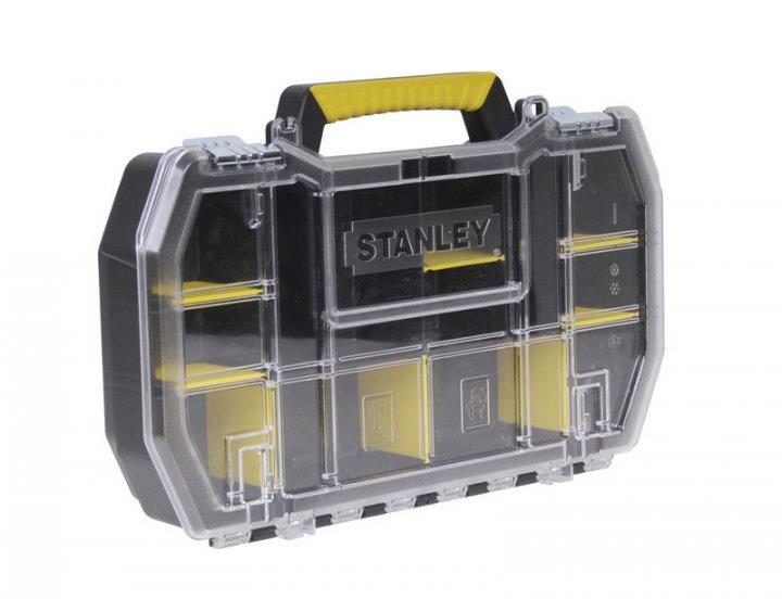 Органайзер Stanley инструментальный кассетница с металлическими замками (50 x 9,5 x 33см) - изображение 1