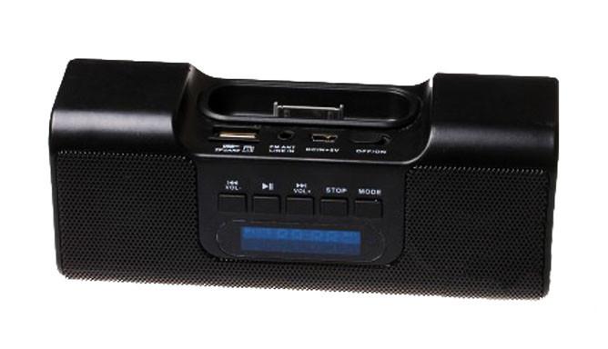 Портативная Стереоколонка AF 03 Micro SD USB FM am - изображение 1