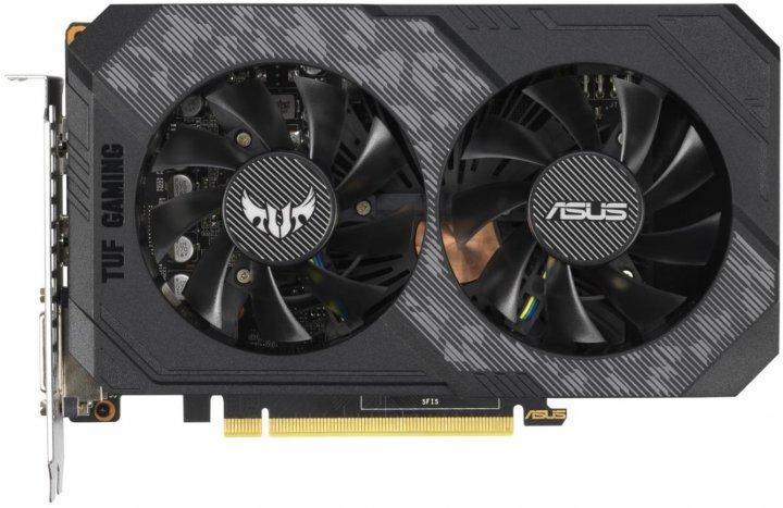 Asus PCI-Ex GeForce GTX 1660 TUF Gaming OC 6GB GDDR5 (192bit) (1530/8002) (DVI, HDMI, DisplayPort) (TUF-GTX1660-O6G-GAMING) - зображення 1
