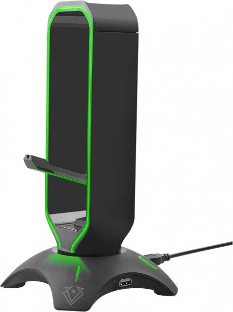 Держатель кабеля 3-в-1 Vertux Extent Black (extent.black) - изображение 1