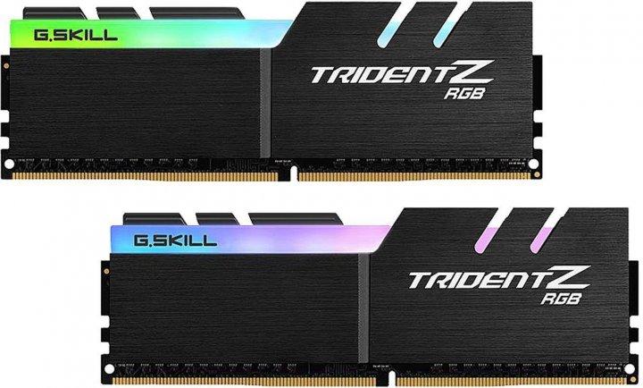 Оперативна пам'ять G.Skill DDR4-3600 16384MB PC4-28800 (Kit of 2x8192) Trident Z RGB (F4-3600C19D-16GTZRB) - зображення 1
