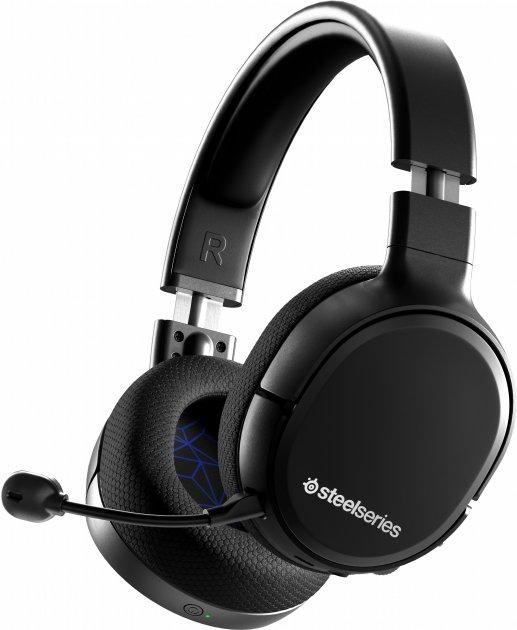 Наушники SteelSeries Arctis 1 Wireless for PS5 Black (61519) - изображение 1