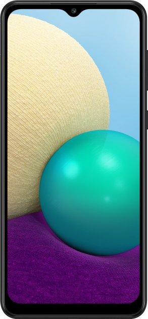 Мобильный телефон Samsung Galaxy A02 2/32GB Black (SM-A022GZKBSEK) - изображение 1
