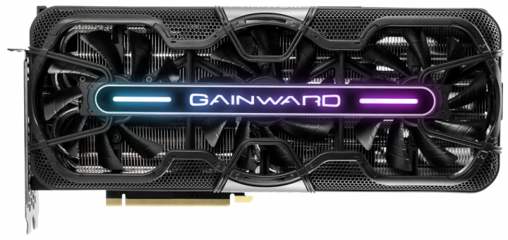 "Gainward PCI-Ex GeForce RTX 3070 Phantom ""GS"" 8GB GDDR6 (256bit) (1815/14000) (HDMI, 3 x DisplayPort) (NE63070T19P2-1040P/471056224-2201) - зображення 1"