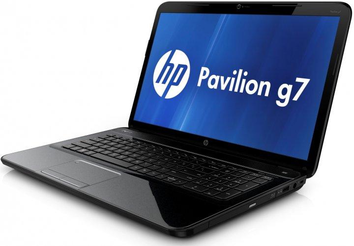 Ноутбук HP Pavilion G7-2355so-AMD A6-4400M-2.7GHz-4Gb-DDR3-320Gb-HDD-W17.3-Web-DVD-R-AMD Radeon HD 7670M-(B)- Б/В - зображення 1