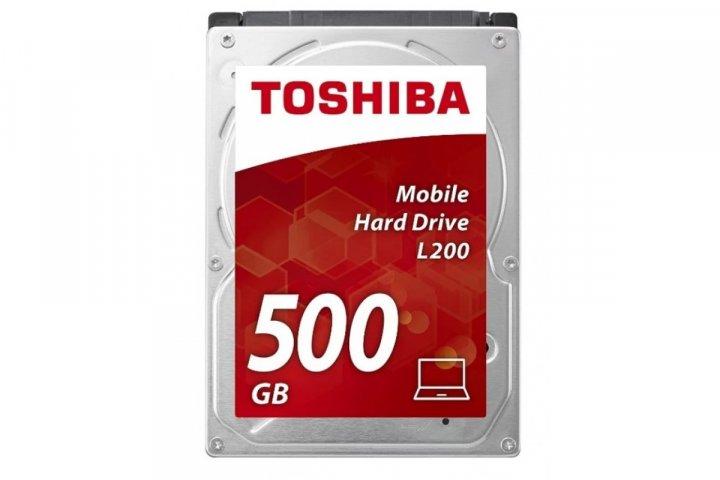 """Жорстку диск Toshiba 2.5"""" 500 ГБ 5400 об/мин, 8МБ SATA2 - заводське відновлення (MQ01ABD050V-FR) Refurbished - зображення 1"""