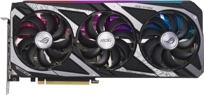 Asus PCI-Ex GeForce RTX 3060 ROG Strix Gaming OC 12GB GDDR6 (192bit) (2 x HDMI, 3 x DisplayPort) (ROG-STRIX-RTX3060-O12G-GAMING) - зображення 1