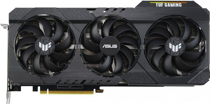 Asus PCI-Ex GeForce RTX 3060 TUF Gaming OC Edition 12GB GDDR6 (192bit) (2 x HDMI, 3 x DisplayPort) (TUF-RTX3060-O12G-GAMING) - зображення 1