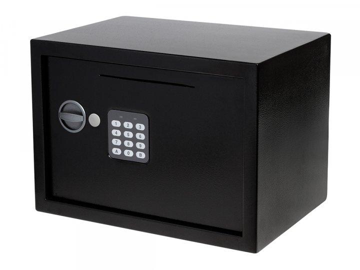 Сейф меблевий ЯМХ 25D чорний - зображення 1