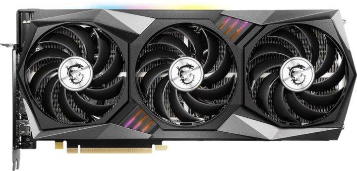 MSI PCI-Ex GeForce RTX 3060 Gaming X Trio 12G 12GB GDDR6 (192bit) (1852/15000) (HDMI, 3 x DisplayPort) (RTX 3060 GAMING X TRIO 12G) - зображення 1